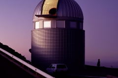 Dome of Swiss 1.2-m Leonhard Euler Telescope